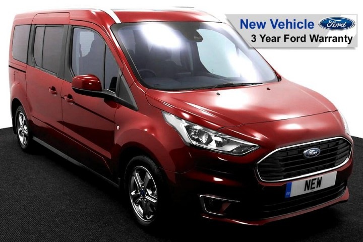 Wheelchair Accessible Vehicle NEW Ford Tourneo Red 1 FW 2