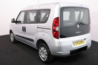Wheelchair Accessible Vehicle FIAT DOBLO SILVER YY13DVV 3