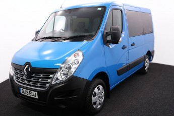 Wheelchair Accessible Vehicle RENAULT MASTER BLUE OU19EUJ 2