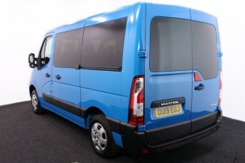 Wheelchair Accessible Vehicle RENAULT MASTER BLUE OU19EUJ 3