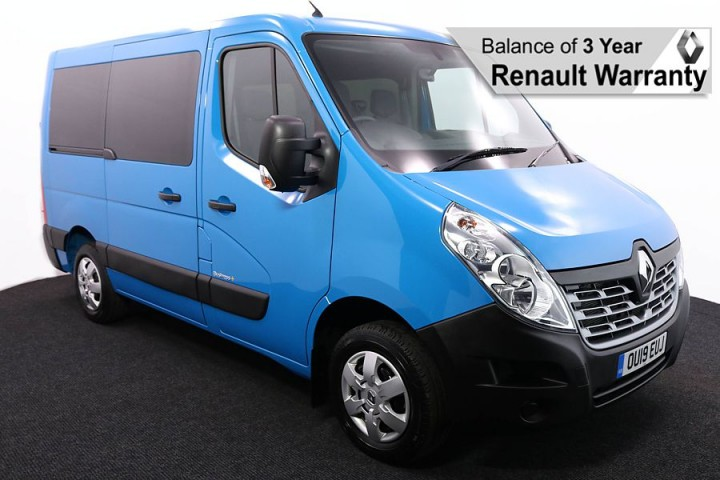 Wheelchair Accessible Vehicle RENAULT MASTER BLUE OU19EUJ 1 RW