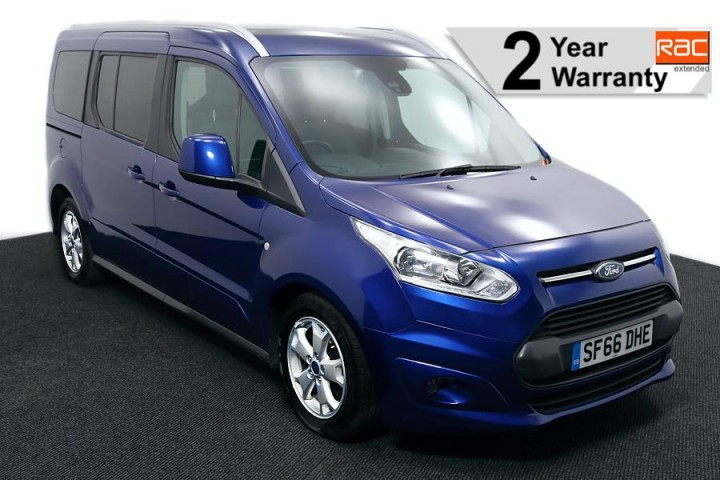 Wheelchair Accessible Vehicle FORD TOURNEO CONNECT SF66DHE BLUE 1RAC