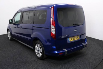 Wheelchair Accessible Vehicle FORD TOURNEO CONNECT SF66DHE BLUE 3B