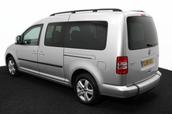 Wheelchair Accessible Vehicle VOLKSWAGEN CADDY SILVER LJ15AZL 3