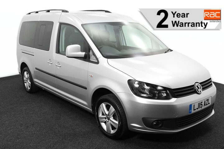 Wheelchair Accessible Vehicle VOLKSWAGEN CADDY SILVER LJ15AZL 1 RAC