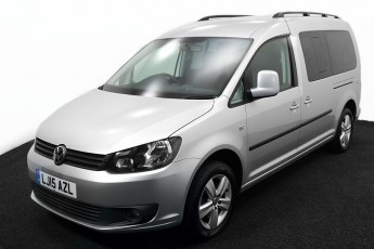 Wheelchair Accessible Vehicle VOLKSWAGEN CADDY SILVER LJ15AZL 2