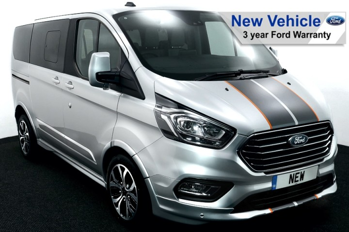 Ford Tourneo Custom Sport Silver Temp 1 FW NEW