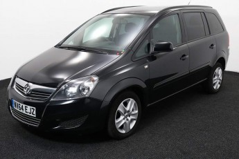 Wheelchair Accessible Vehicle Vauxhall Zafira NV64EJZ Black 2