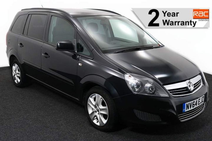 Wheelchair Accessible Vehicle Vauxhall Zafira NV64EJZ Black 1 rac