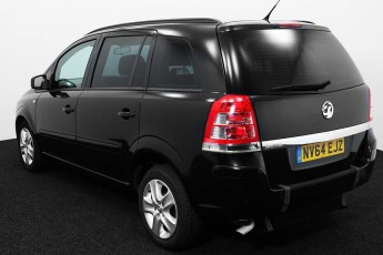 Wheelchair Accessible Vehicle Vauxhall Zafira NV64EJZ Black 3