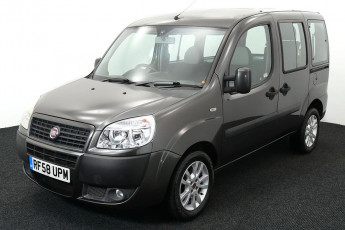 Wheelchair Accessible Vehicle Fiat Doblo Grey RF58UPM 2