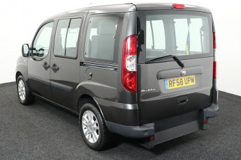 Wheelchair Accessible Vehicle Fiat Doblo Grey RF58UPM 3
