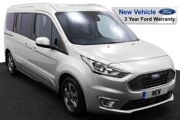 Wheelchair Accessible Vehicle NEW Ford Tourneo Grand Connect Moondust Silver 1 FW