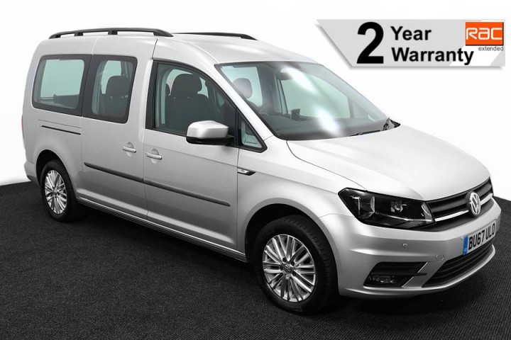 Wheelchair Accessible Vehicle Volkswagen Caddy silver BU67ULO 1 RAC