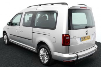 Wheelchair Accessible Vehicle Volkswagen Caddy silver BU67ULO 3