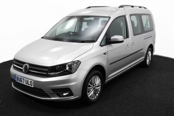 Wheelchair Accessible Vehicle Volkswagen Caddy silver BU67ULO 2
