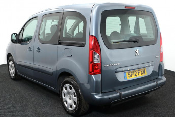 Wheelchair Accessible Vehicle Peugeot Partner Grey SF12FXW 3