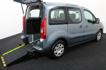 Wheelchair Accessible Vehicle Peugeot Partner Grey SF12FXW 4