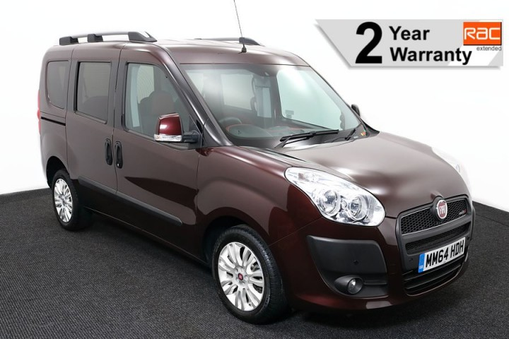 Wheelchair Accessible Vehicle Fiat Doblo MM64HDH 1 rac