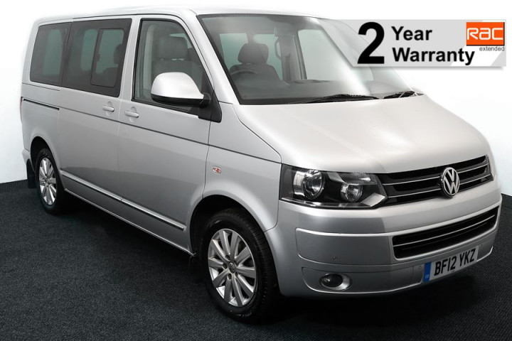 Wheelchair Accessible Vehicle Volkswagen Caravelle BF12YKZ SILVER 1 RAC