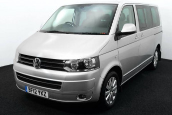Wheelchair Accessible Vehicle Volkswagen Caravelle BF12YKZ SILVER 2c