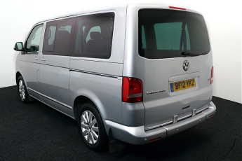 Wheelchair Accessible Vehicle Volkswagen Caravelle BF12YKZ SILVER 3