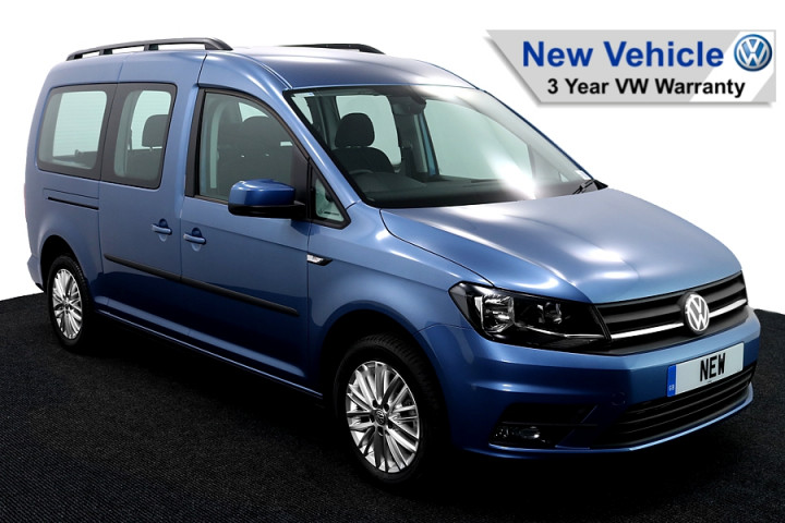 Wheelchair Accessible Vehicle Volkswagen Caddy New Blue 1 AA