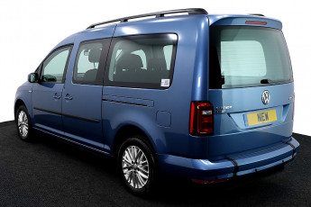 Wheelchair Accessible Vehicle Volkswagen Caddy New Blue 3