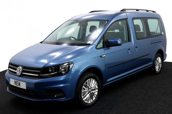 Wheelchair Accessible Vehicle Volkswagen Caddy New Blue 2