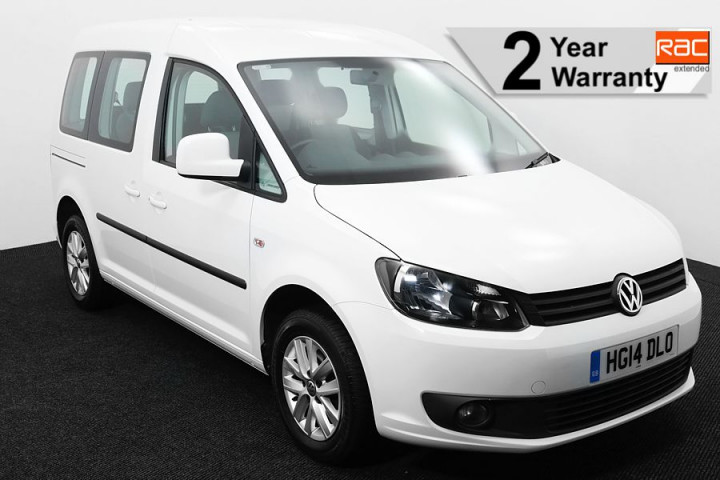 Wheelchair Accessible Vehicle Volkswagen Caddy White HG14DLO 1 RAC