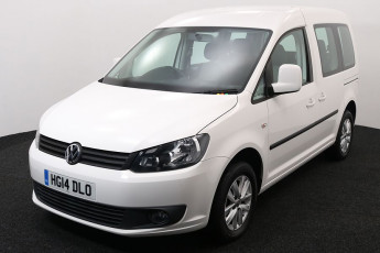 Wheelchair Accessible Vehicle Volkswagen Caddy White HG14DLO 2