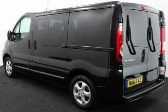 Wheelchair Accessible Vehicle WA61FWZ Renault Trafic Black 3B