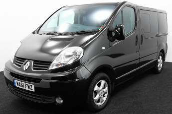 Wheelchair Accessible Vehicle WA61FWZ Renault Trafic Black 2