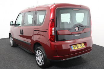 Wheelchair Accessible Vehicle Fiat Doblo Red BV68OEA 3