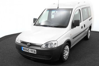 Wheelchair accessible vehicle Vauxhall Combo silver NX60VXA 2
