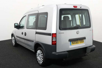 Wheelchair accessible vehicle Vauxhall Combo silver NX60VXA 3