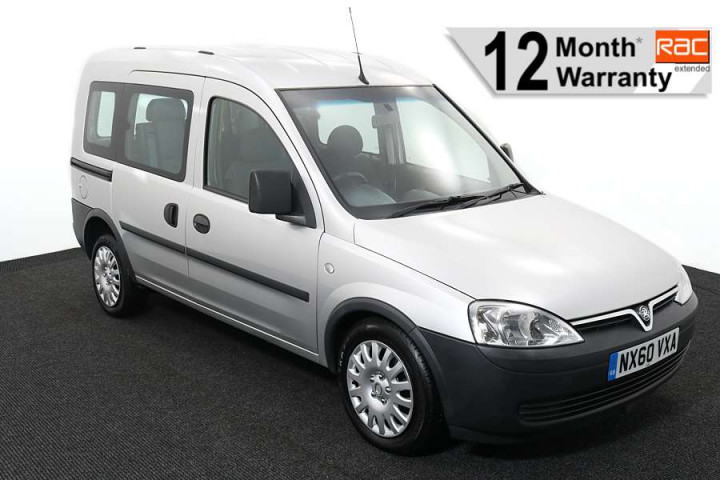 Wheelchair accessible vehicle Vauxhall Combo silver NX60VXA 1 12 WARRANTY