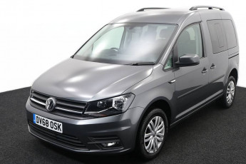 Wheelchair Accessible Vehicle Volkswagen Caddy Silver DV68OSK 2