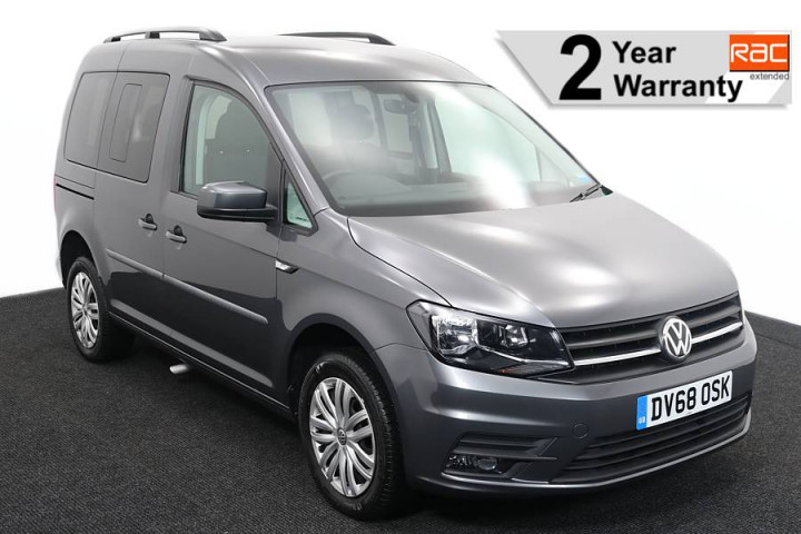 Wheelchair Accessible Vehicle Volkswagen Caddy Silver DV68OSK 1 RAC