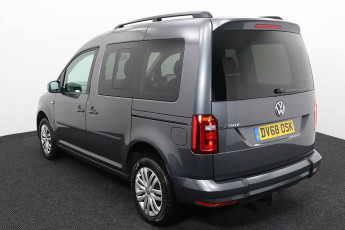 Wheelchair Accessible Vehicle Volkswagen Caddy Silver DV68OSK 3