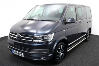 Wheelchair Acccessible Vehicle Volkswagen Caravelle Blue BG16NPZ 2