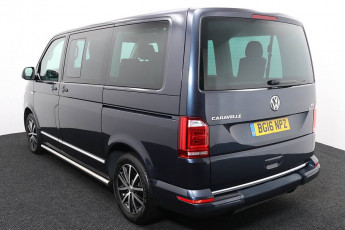 Wheelchair Acccessible Vehicle Volkswagen Caravelle Blue BG16NPZ 3