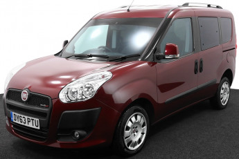 Wheelchair Accessible Vehicle DY63PTU Fiat Doblo Red 2