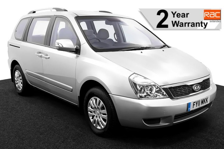1.Wheelchair Accessible Vehicle KIA Sedona FY11MKK Silver 1 RAC 2