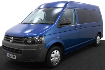 Wheelchair Accessible Vehicle YN61FRK Volkswagen Transporter Blue 2 2