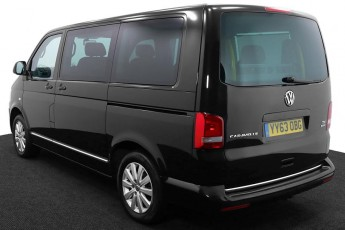 Wheelchair Accessible Vehicle YY63OBG Volkswagen Caravelle Black 3 2