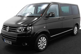 Wheelchair Accessible Vehicle YY63OBG Volkswagen Caravelle Black 2 2