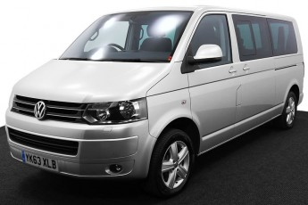 Wheelchair Accessible Vehicle YK63XLB Volkswagen Caravelle Silver 2 2