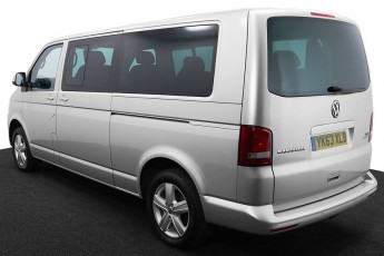 Wheelchair Accessible Vehicle YK63XLB Volkswagen Caravelle Silver 3 2
