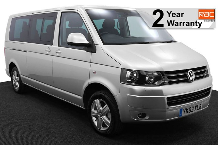 1.Wheelchair Accessible Vehicle YK63XLB Volkswagen Caravelle Silver 1 RAC